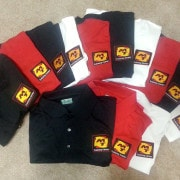 Uniform Polo custom Embroidered