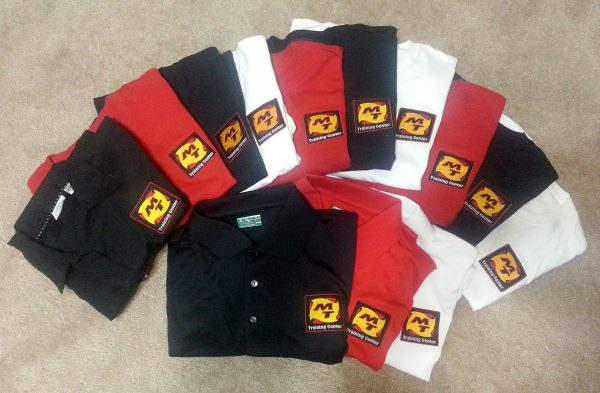 Uniform Polo custom Embroidered
