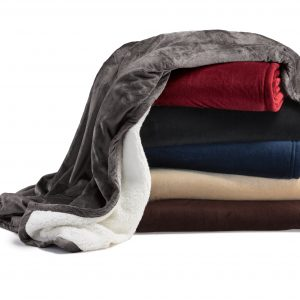 Sherpa mountain blanket