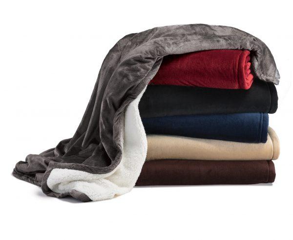 Sherpa mountain blanket