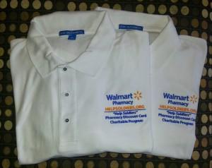 walmart corporate polos