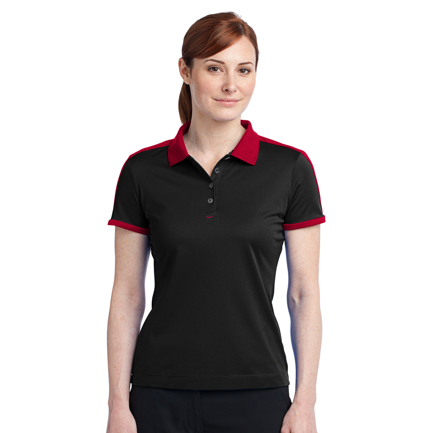 ab6d590ed26ef Nike Golf Ladies two tone color Dri-FIT N98 Polo – Cherie4art ...