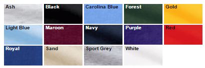Jersey knit polo colors