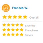 Yellowpages review score screenshot