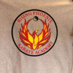 Vinyl shirt for Rising Phoenix of Arlington Texas, Mansfield Texas