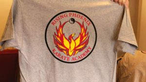 Rising Phoenix Karate Shirts