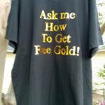 Gold Foil Shirt Printing