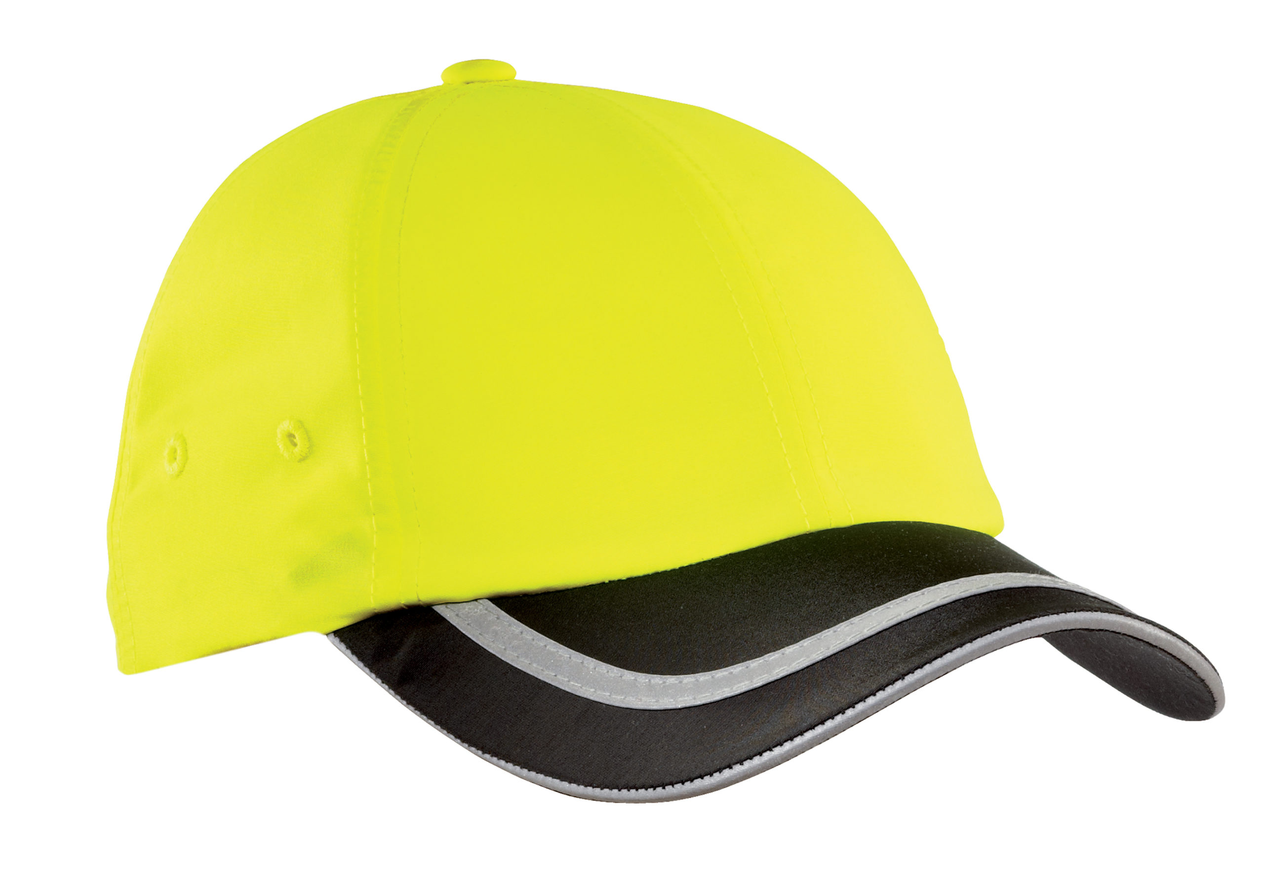 safety hat yellow and black